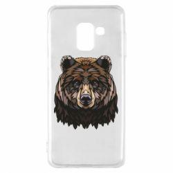 Чохол для Samsung A8 2018 Bear graphic