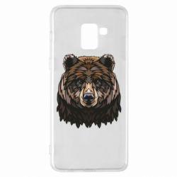 Чохол для Samsung A8+ 2018 Bear graphic