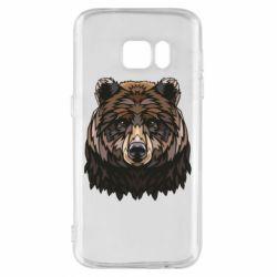 Чохол для Samsung S7 Bear graphic