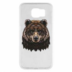 Чохол для Samsung S6 Bear graphic