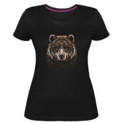 Жіноча стрейчева футболка Bear graphic