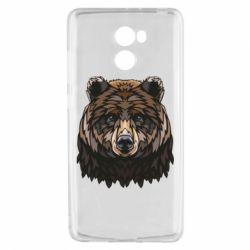 Чехол для Xiaomi Redmi 4 Bear graphic