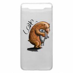 Чехол для Samsung A80 Bear hugs a hare