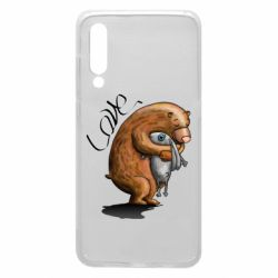 Чехол для Xiaomi Mi9 Bear hugs a hare
