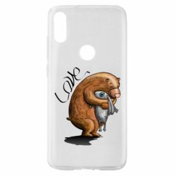 Чехол для Xiaomi Mi Play Bear hugs a hare