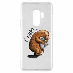 Чехол для Samsung S9+ Bear hugs a hare
