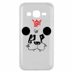 Чехол для Samsung J2 2015 Bear panda