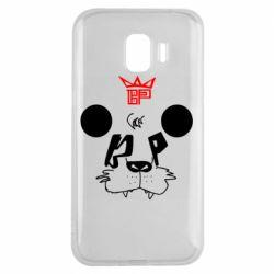 Чехол для Samsung J2 2018 Bear panda
