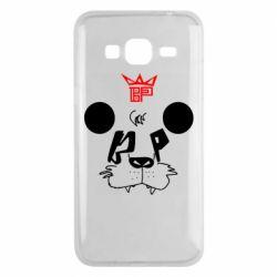 Чехол для Samsung J3 2016 Bear panda