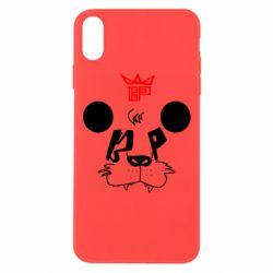 Чехол для iPhone Xs Max Bear panda