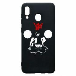 Чехол для Samsung A20 Bear panda