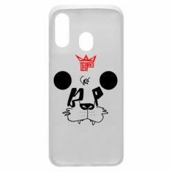 Чехол для Samsung A40 Bear panda