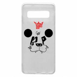 Чехол для Samsung S10 Bear panda