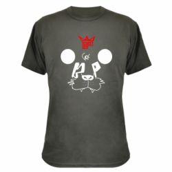 Камуфляжная футболка Bear panda