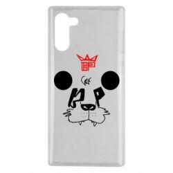 Чехол для Samsung Note 10 Bear panda