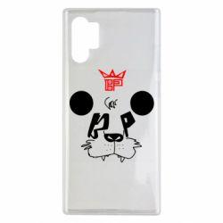 Чехол для Samsung Note 10 Plus Bear panda