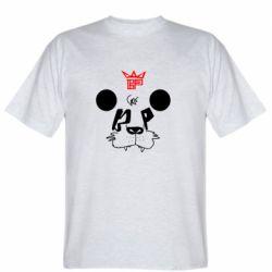 Мужская футболка Bear panda