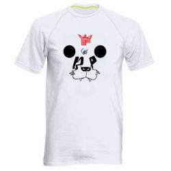 Мужская спортивная футболка Bear panda