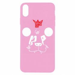 Чехол для iPhone X/Xs Bear panda