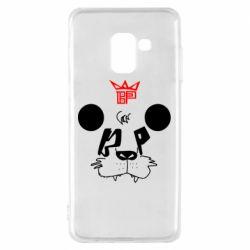 Чехол для Samsung A8 2018 Bear panda