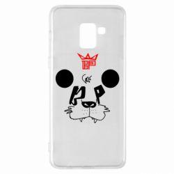 Чехол для Samsung A8+ 2018 Bear panda