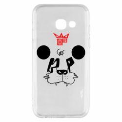 Чехол для Samsung A3 2017 Bear panda
