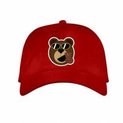 Детская кепка Bear sticker