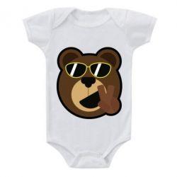Детский бодик Bear sticker