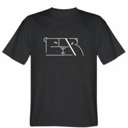 Мужская футболка Bear stripes
