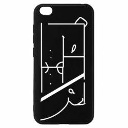 Чехол для Xiaomi Redmi Go Bear stripes