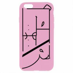 Чехол для iPhone 6 Plus/6S Plus Bear stripes