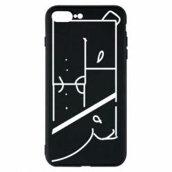 Чехол для iPhone 8 Plus Bear stripes