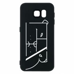 Чехол для Samsung S6 Bear stripes