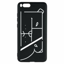 Чехол для Xiaomi Mi Note 3 Bear stripes