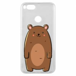 Чехол для Xiaomi Mi A1 Bear with a smile