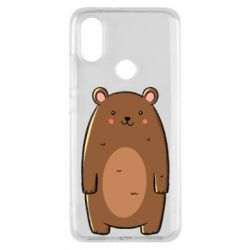 Чехол для Xiaomi Mi A2 Bear with a smile