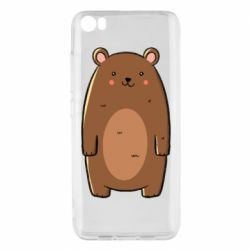 Чехол для Xiaomi Mi5/Mi5 Pro Bear with a smile