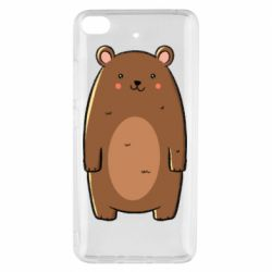 Чехол для Xiaomi Mi 5s Bear with a smile