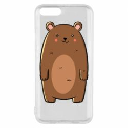 Чехол для Xiaomi Mi6 Bear with a smile
