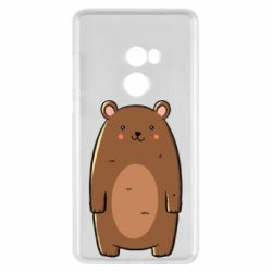 Чехол для Xiaomi Mi Mix 2 Bear with a smile