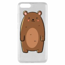 Чехол для Xiaomi Mi Note 3 Bear with a smile