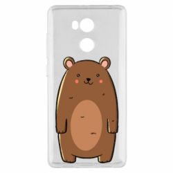 Чехол для Xiaomi Redmi 4 Pro/Prime Bear with a smile