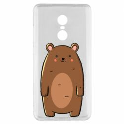 Чехол для Xiaomi Redmi Note 4x Bear with a smile