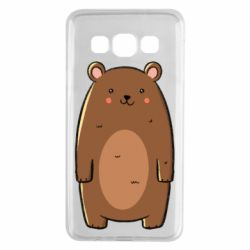 Чехол для Samsung A3 2015 Bear with a smile