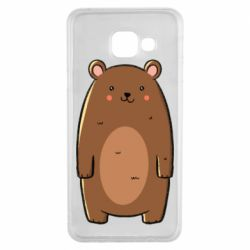 Чехол для Samsung A3 2016 Bear with a smile