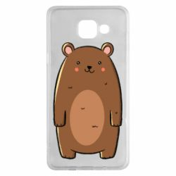 Чехол для Samsung A5 2016 Bear with a smile