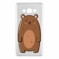 Чехол для Samsung A7 2015 Bear with a smile