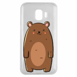 Чехол для Samsung J2 2018 Bear with a smile