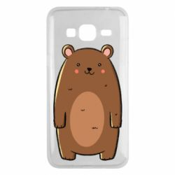 Чехол для Samsung J3 2016 Bear with a smile