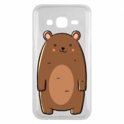 Чехол для Samsung J5 2015 Bear with a smile